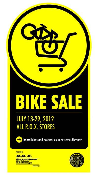 ROX Bike Sale July 2012