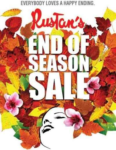 Rustan's End of Season Sale July 2012