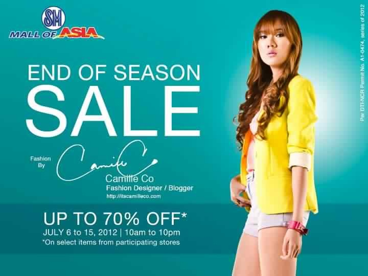 SM Mall of Asia End of Season Sale July 2012