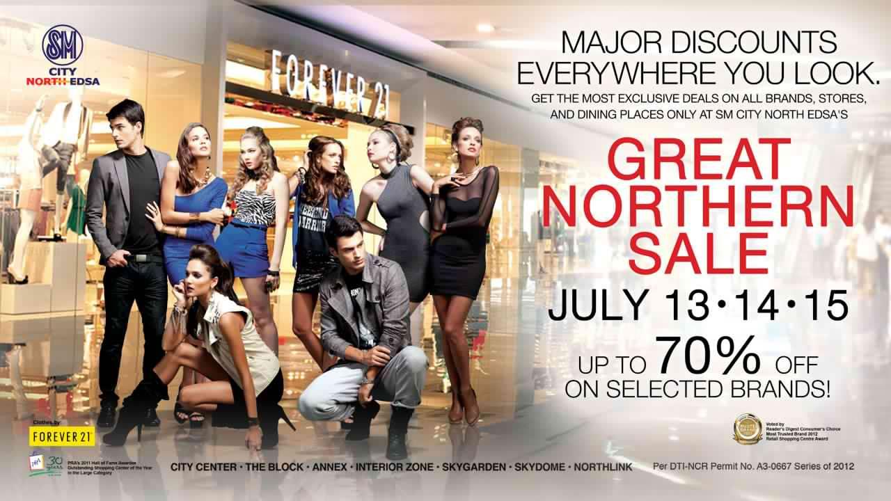 SM North Edsa Sale July 2012