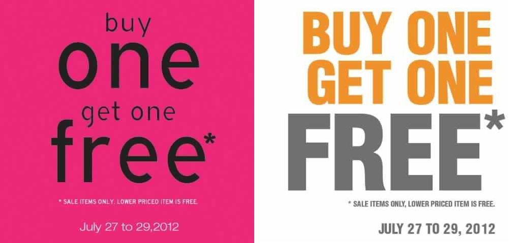 Topman Topshop Buy 1 Get 1 Sale July 2012