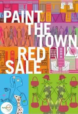 Alabang Town Center Paint The Town Red Sale August 2012