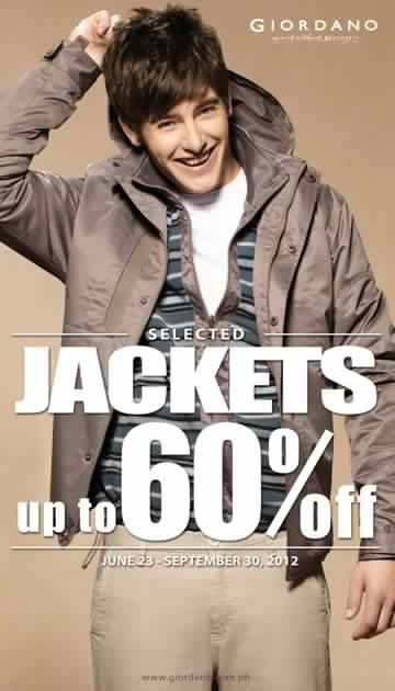 Giordano Jackets Sale August 2012