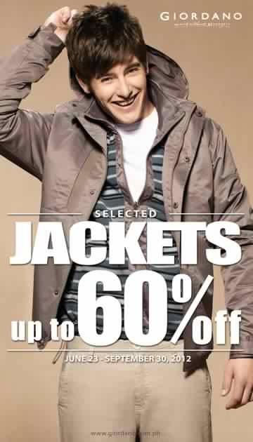Giordano Jackets Sale August 2012