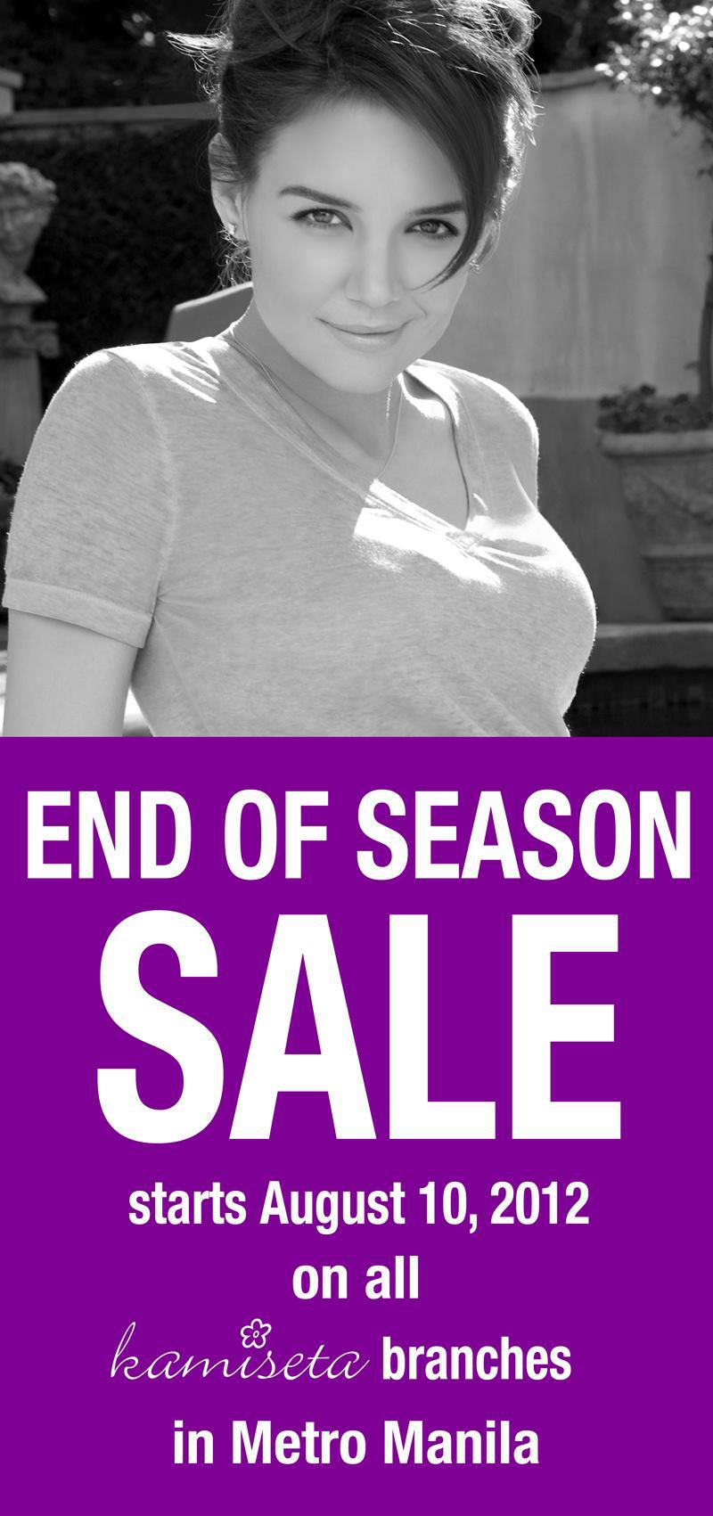 Kamiseta End of Season Sale August 2012