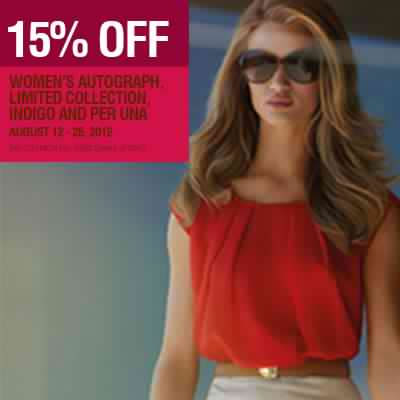 Marks & Spencer Ladies Treat August 2012