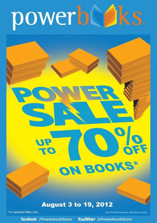Powerbooks Power Sale August 2012