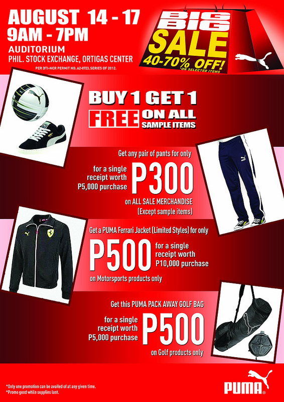 Puma Sale @ Philippine Stock Exchange August 2012