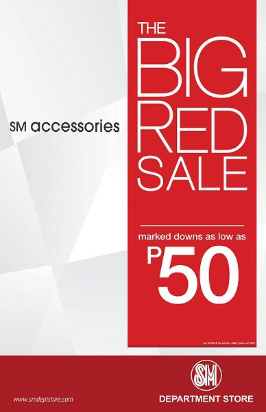 SM Accesoories The Big Red Sale August 2012