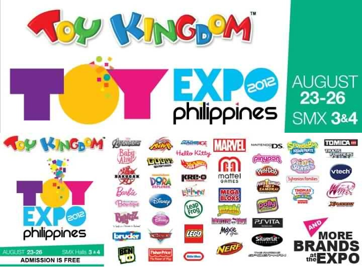 Toy Expo Philippines @ SMX Convention Center August 2012