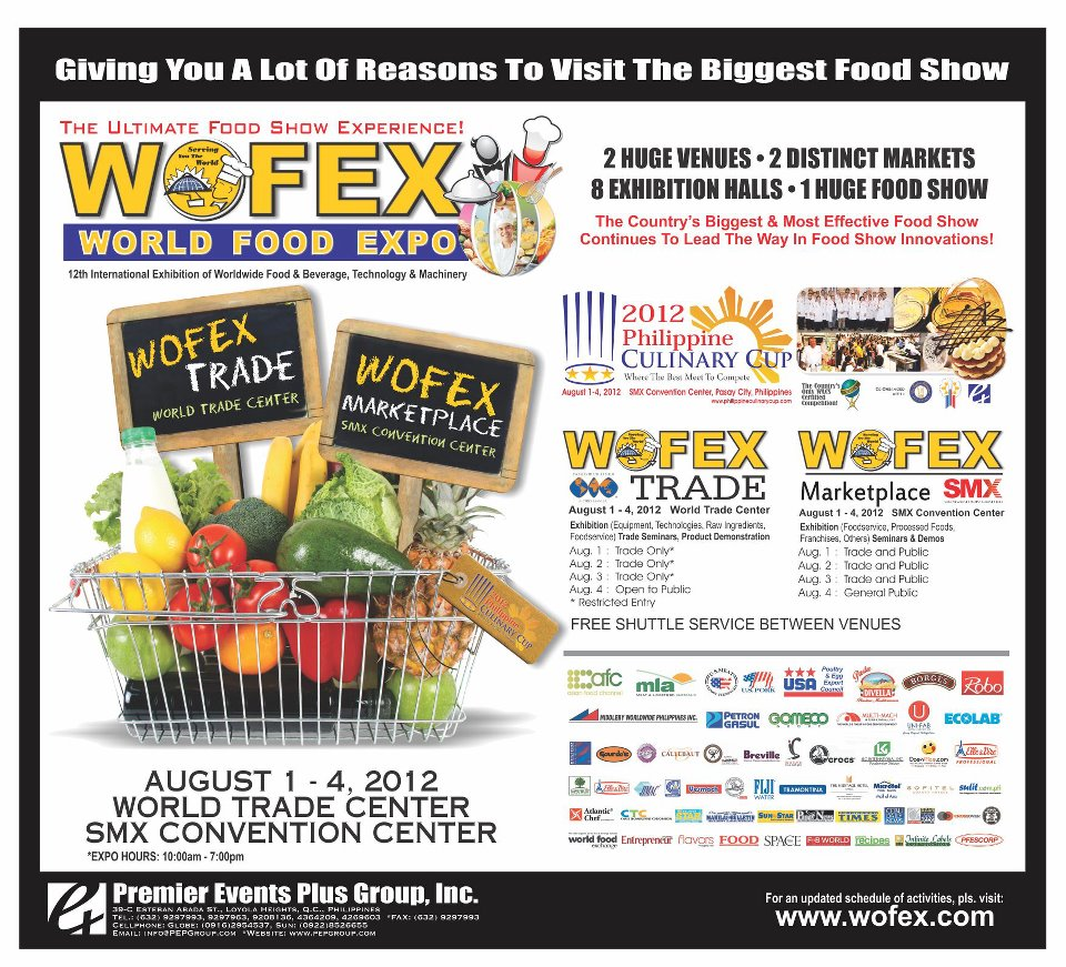 WOFEX @ SMX Convention Center August 2012