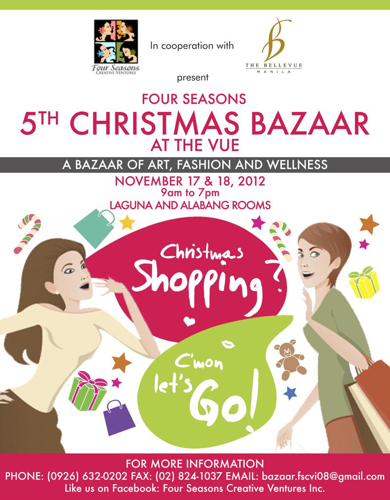 5th Christmas Bazaar @ The Bellevue Manila November 2012