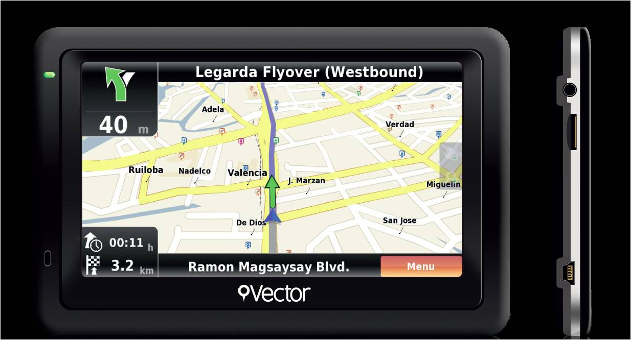 Citibank promo: Vector Portable GPS Navigation Device August - September 2012