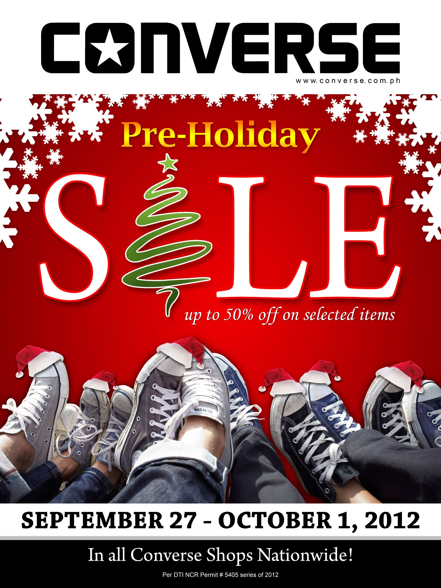 Converse Pre-Holiday Sale September 2012
