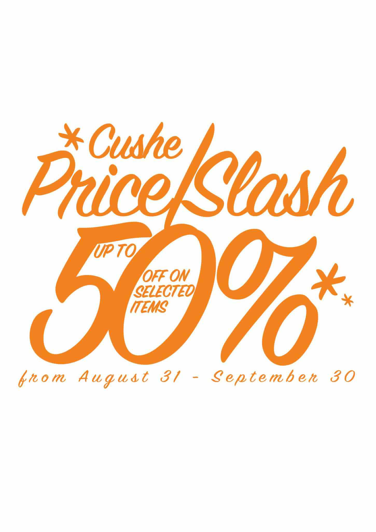 Cushe Anniversary Sale September 2012