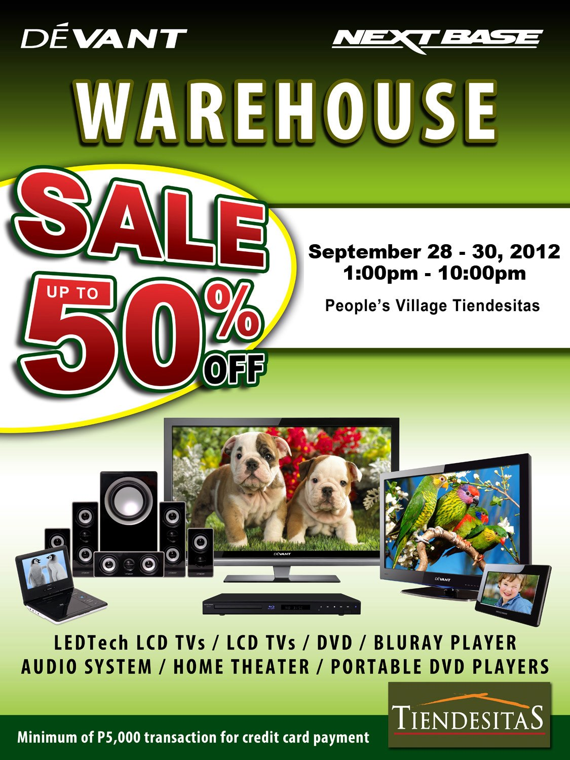 Devant & Next Base Warehouse Sale September 2012