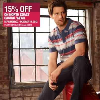 Marks & Spencer North Coast Sale September - October 2012