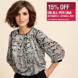 Marks & Spencer Per Una Sale September - October 2012