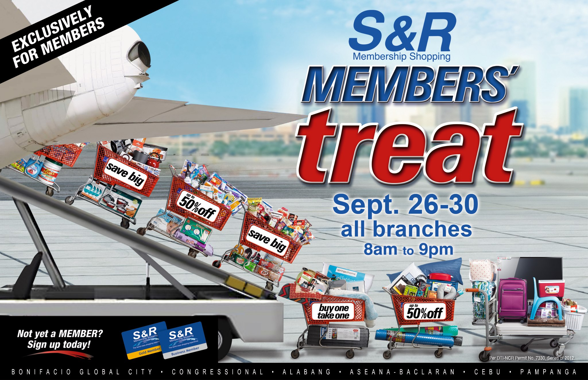 S&R Members' Treat September 2012