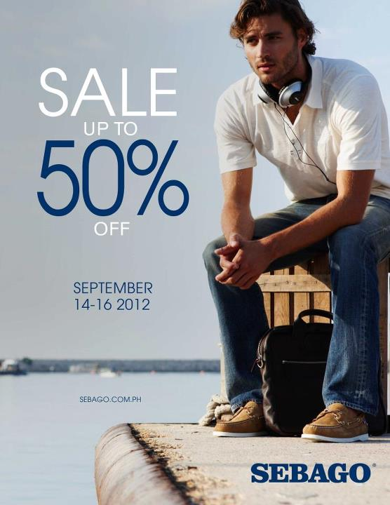 Sebago Sale September 2012