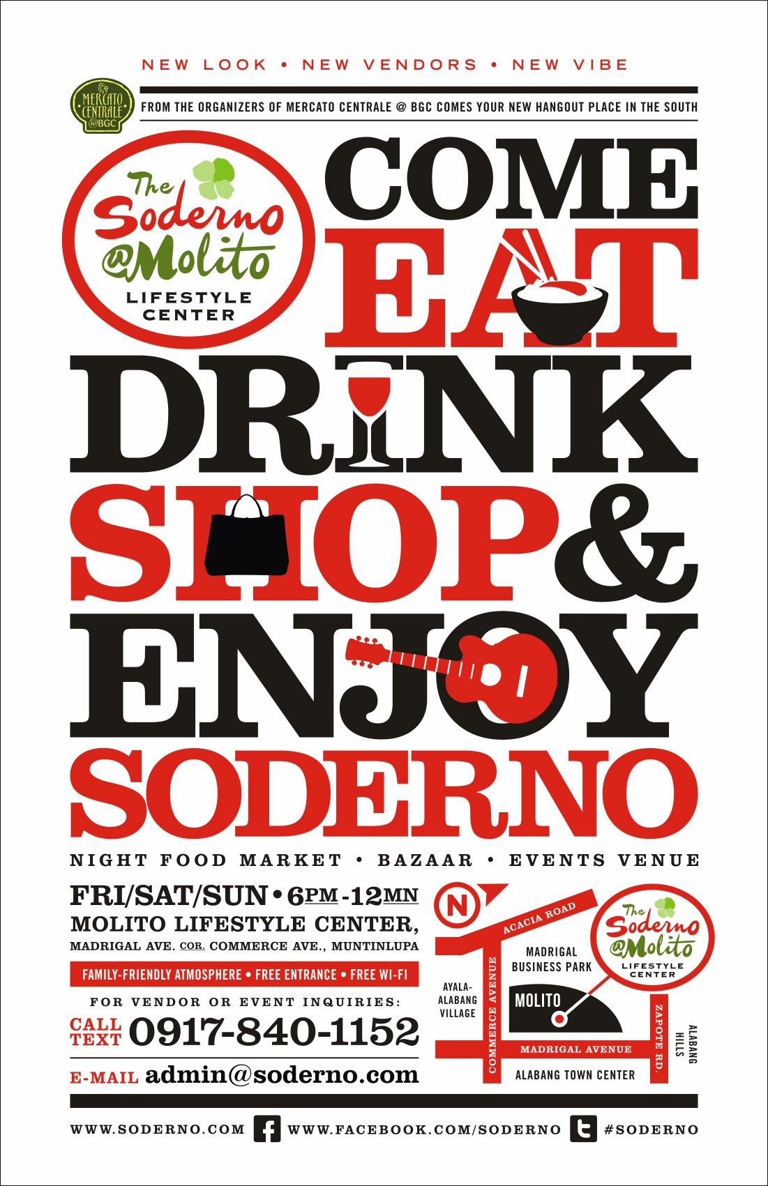 Soderno @ Molito Lifestyle Center 2012