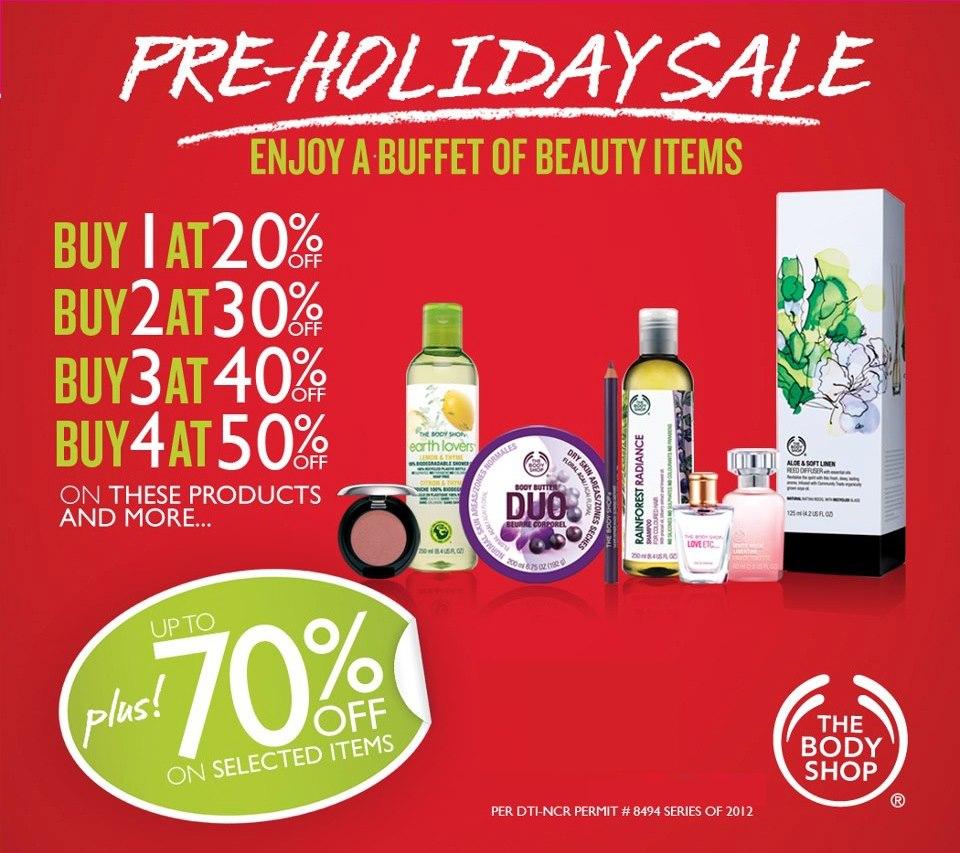 The Body Shop Sale September - October 2012