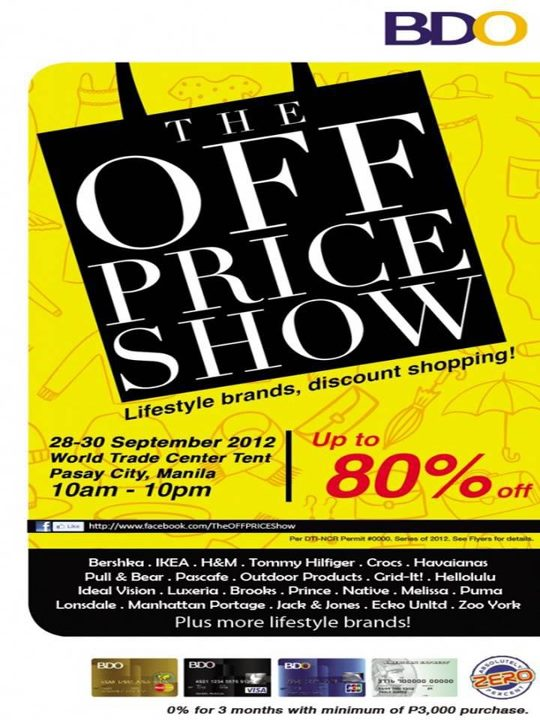The Off Price Show @ The World Trade Center September 2012