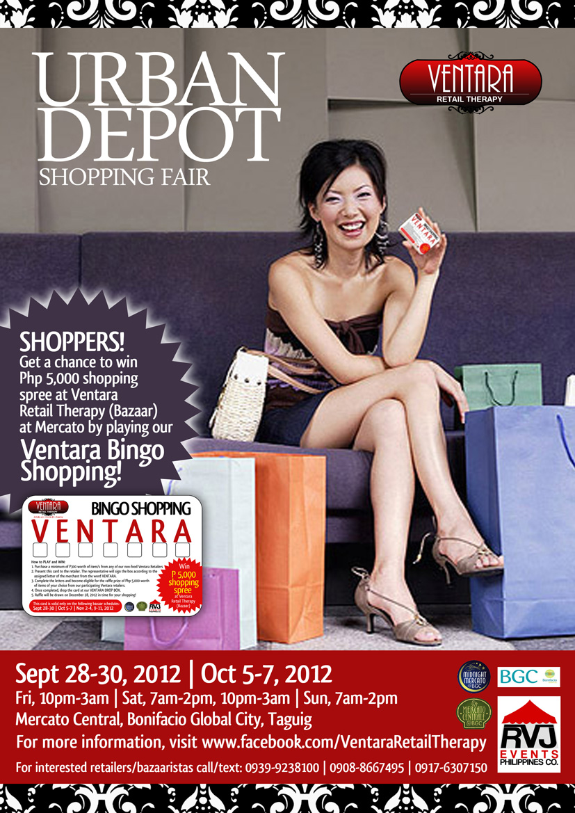 Ventara Retail Therapy @ Mercato Central September 2012