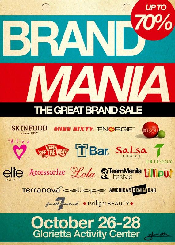 Glorietta Brand Mania Sale October 2012