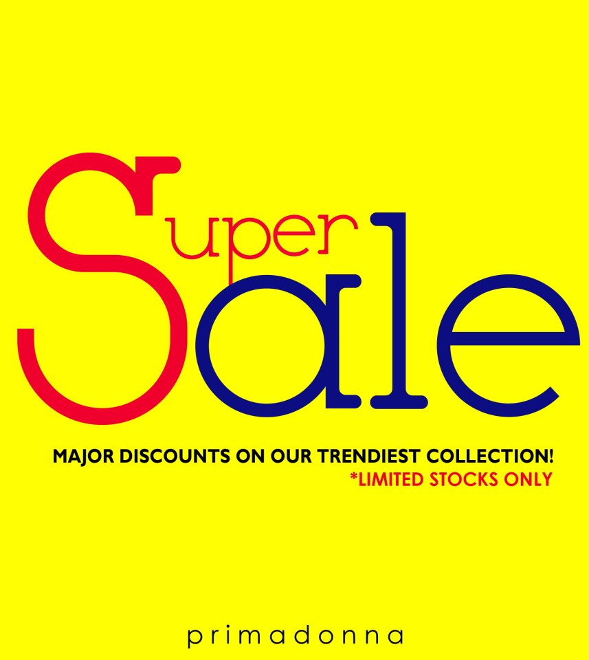Primadonna Shoes Super Sale October - November 2012