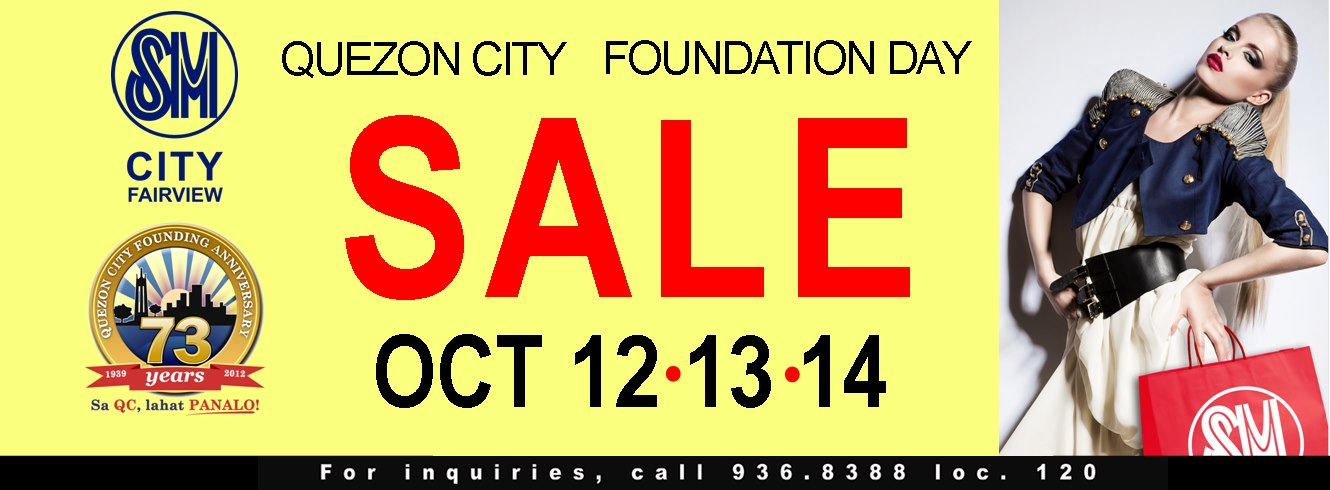 SM City Fairview Sale October 2012