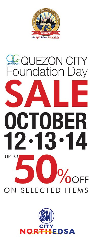 SM City North Edsa Sale October 2012