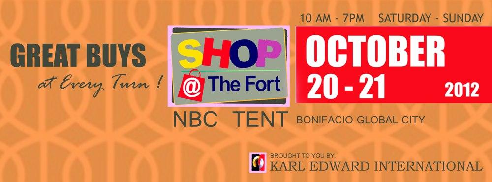 Shop @ The Fort October 2012