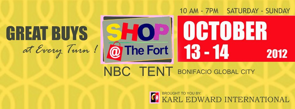 Shop @ The Fort October 2012