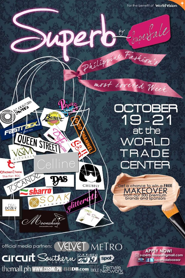 Superb Bazaar by SuperSale @ World Trade Center October 2012