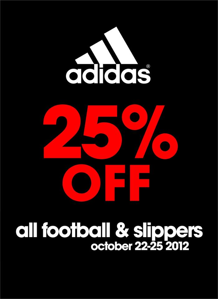 Toby's Sports Adidas Sale October 2012