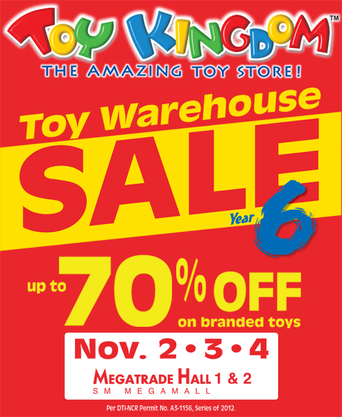 Toy Kingdom Warehouse Sale @ SM Megatrade Hall November 2012
