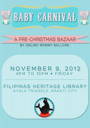 Baby Carnival Bazaar @ Filipinas Heritage Library November 2012