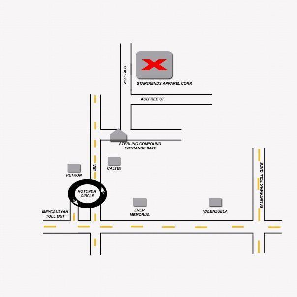 Big Garments Sale Location map
