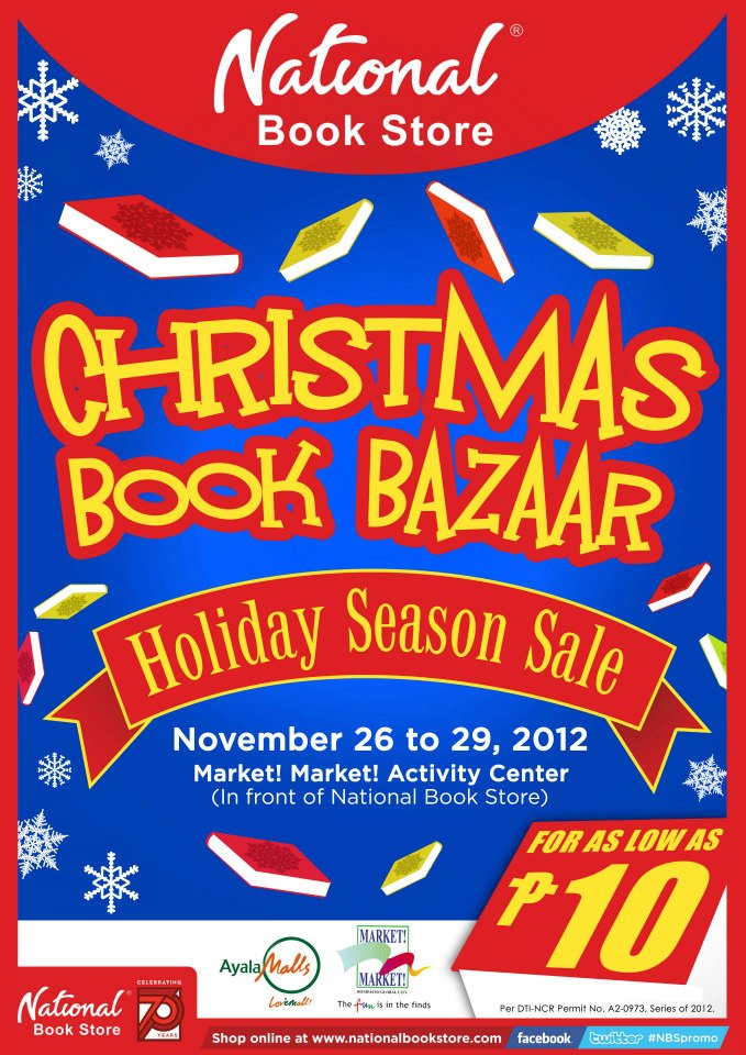 Christmas Book Bazaar Holiday Season Sale @ Market Market November 2012