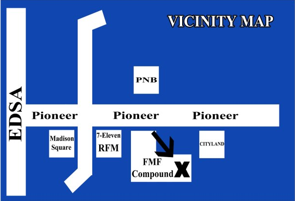 FMF Compound Vicinity Map