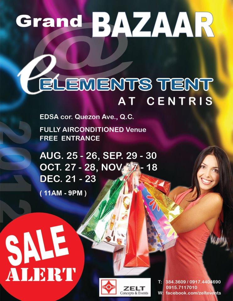 Grand Bazaar @ Eton Centris November & December 2012