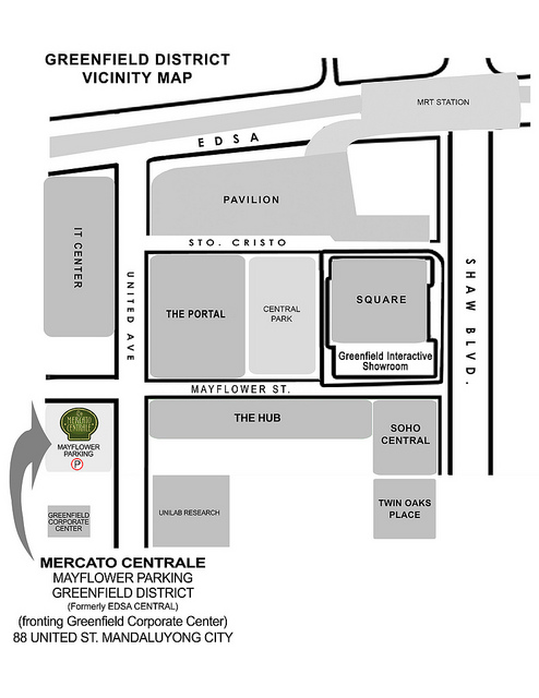 Manda Centrale - Greenfield District Vicinity Map