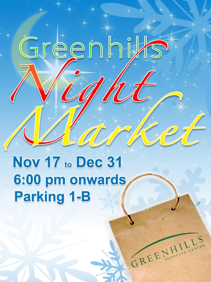 Greenhills Night Market November - December 2012