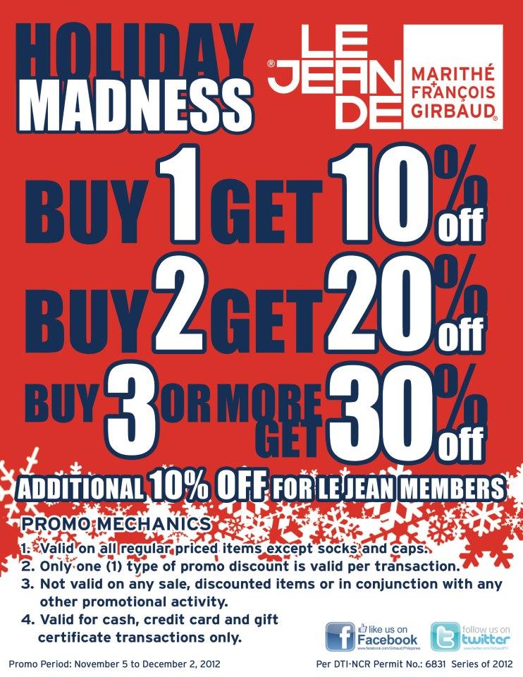 Marithe Francois Gribaud Holiday Madness November - December 2012