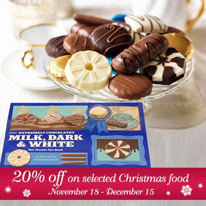 Marks & Spencer Christmas Food Sale November - December 2012