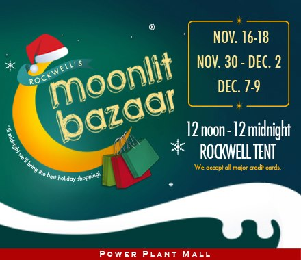 Rockwell's Moonlit Bazaar November - December 2012