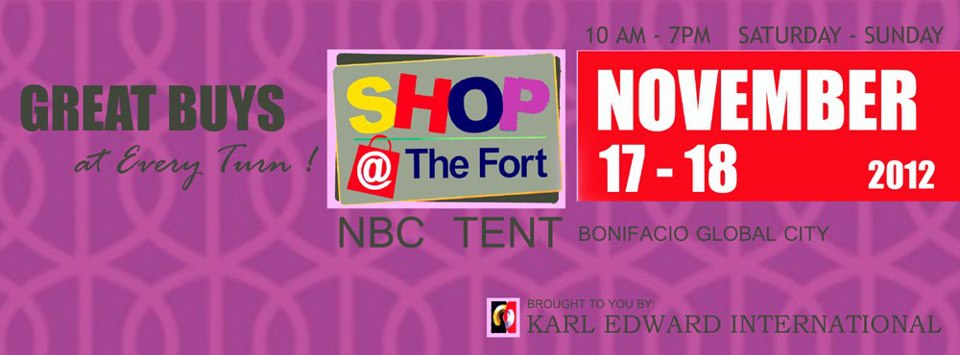 Shop @ The Fort November 2012