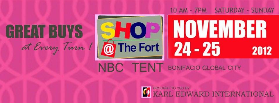 Shop @ The Fort November 2012