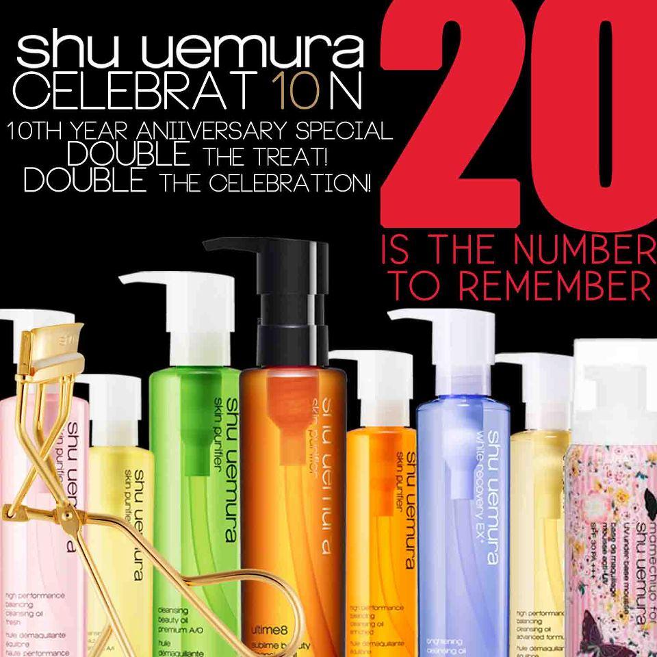 Shu Uemura Anniversary Celebration Special November 2012